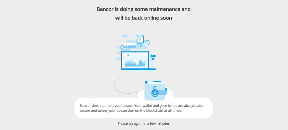 Биржа Bancor приостановила деятельность из-за «нарушения безопасности»