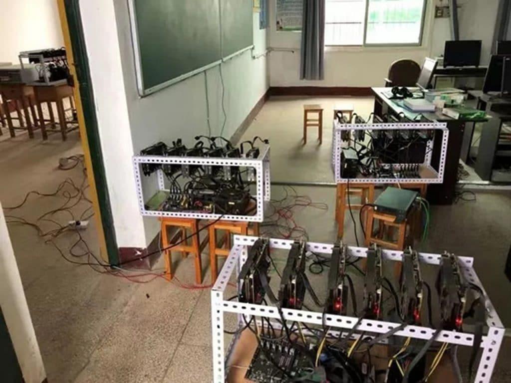 Китай: руководитель школы лишился должности за майнинг ETH на рабочем месте