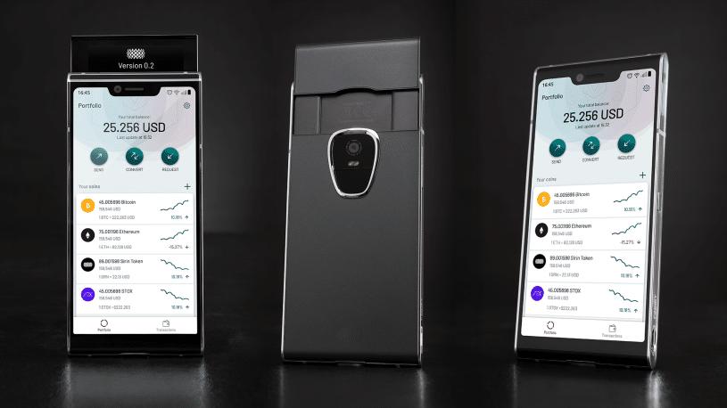 Швейцарская компания SIRIN представила свой первый блокчейн-смартфон рис 2
