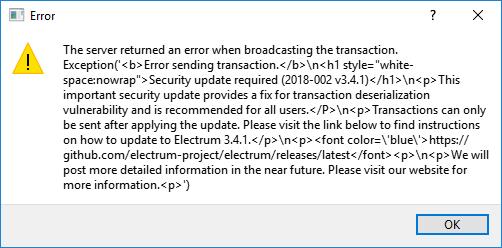 Разработчики крипто-кошелька Electrum предупредили пользователей о фишинговой атаке рис 4