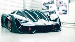 Компания Lamborghini презентует во Франкфурте гибридный гиперкар LB48H