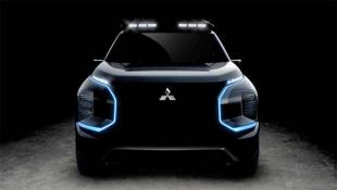 Компания Mitsubishi выложила тизер электрического внедорожника Engelberg Tourer