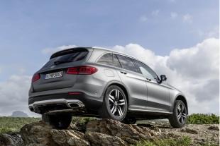 Компания Mercedes презентует в Женеве модель GLC-Class