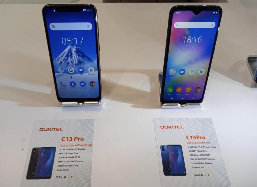 OUKITEL на MWC 2019: смартфоны с мощными аккумуляторами и модные бюджетники-4