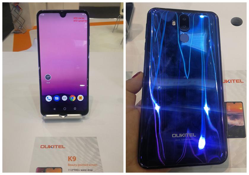 OUKITEL на MWC 2019: смартфоны с мощными аккумуляторами и модные бюджетники-2