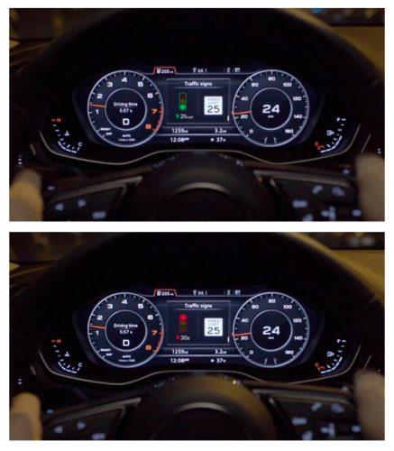 Audi избавит автомобилистов от остановок на светофорах