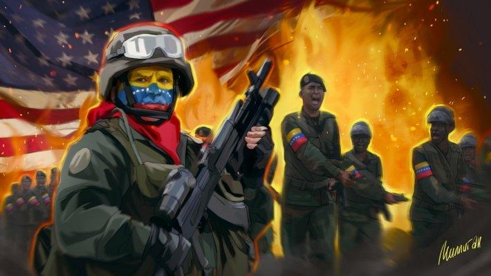 Официальный Каракас контролирует вооруженные силы Венесуэлы