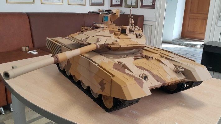 Главной особенностью модернизированного танка стала возможность обмениваться данными с другими машинами в режиме реального времени