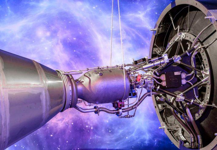 В Великобритании распечатали самый большой в мире ракетный двигатель