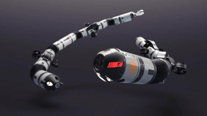 Робот-змея Eelume будет испытан в море
