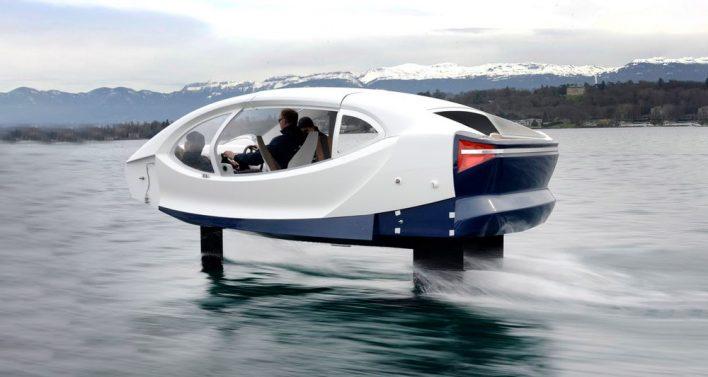 В Майами показали водное «летающее» такси (видео)