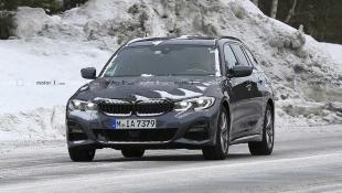 В Сети опубликованы снимки BMW 3-Series Touring