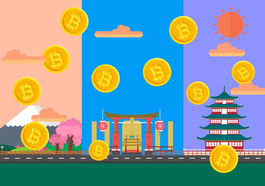 Криптовалюты в Азии