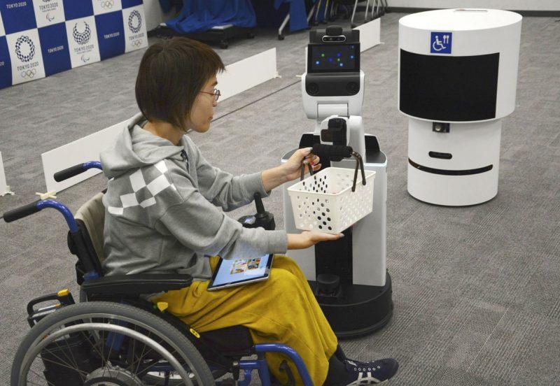 роботы на Олимпиаде-2020