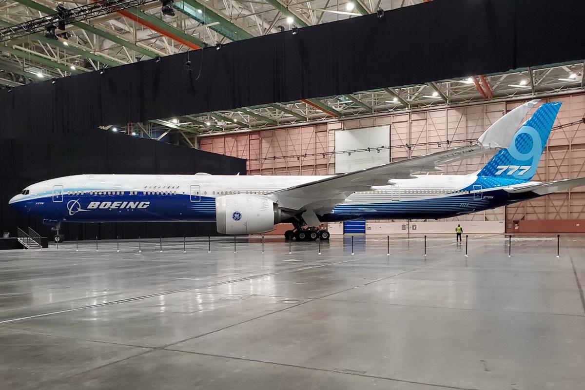Boeing 777X / ©Boeing