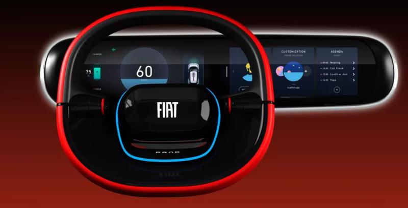 FIAT электромобиль