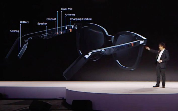 Huawei представила крутые «умные» очки