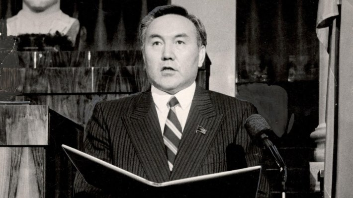 Нурсултан Назарбаев управлял Казахстаном с 1989 года