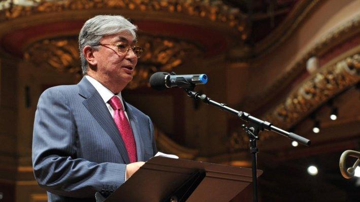Новый президент Казахстана Касым-Жомарт Токаев