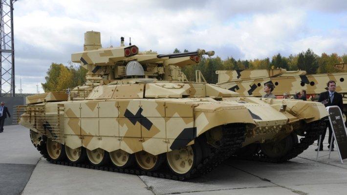 Уральские танки и «Терминаторы» отправились в Москву на Парад Победы