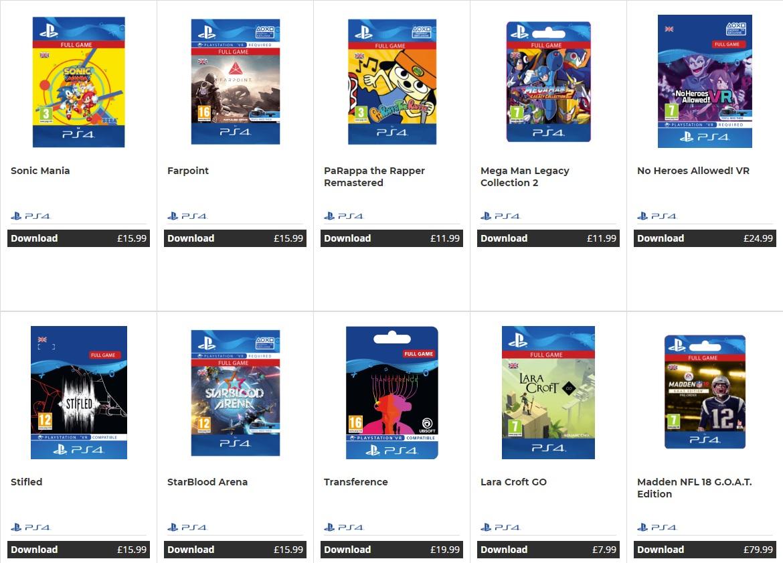 Sony прекратит продажу цифровых версий игр для PS4 запределами PSN