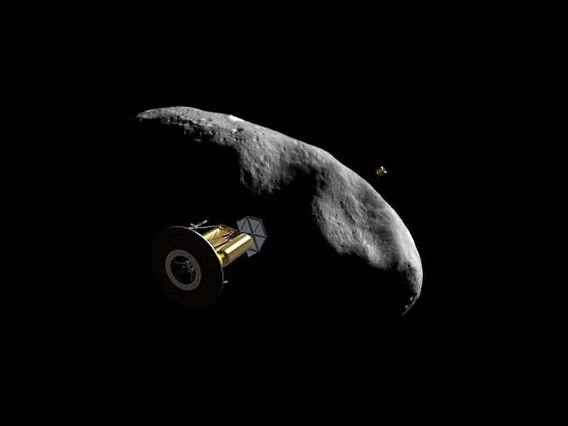 Концепция зонда Arkyd Interceptor для исследования астероидов / © Planetary Resources
