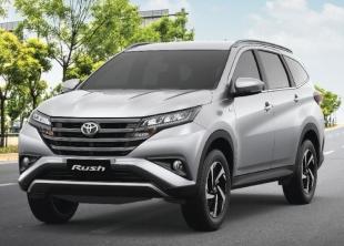 Компания Toyota готовится к презентации кроссовера Rush