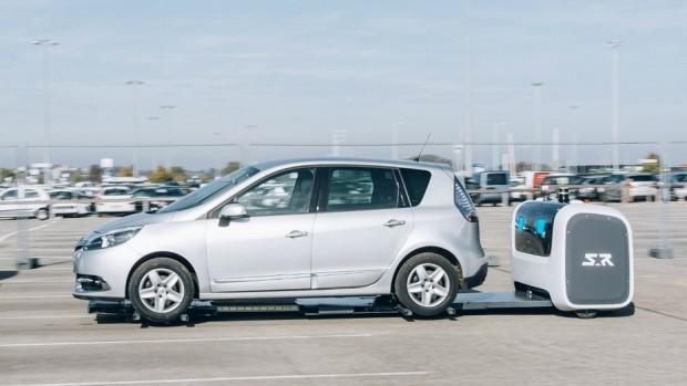 В аэропорту Лиона тестируются роботы, паркующие автомобили