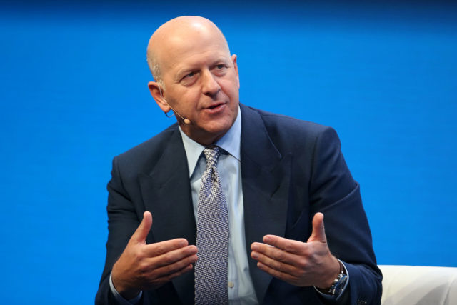 CEO Goldman Sachs опроверг информацию о возможном открытии криптовалютного подразделения