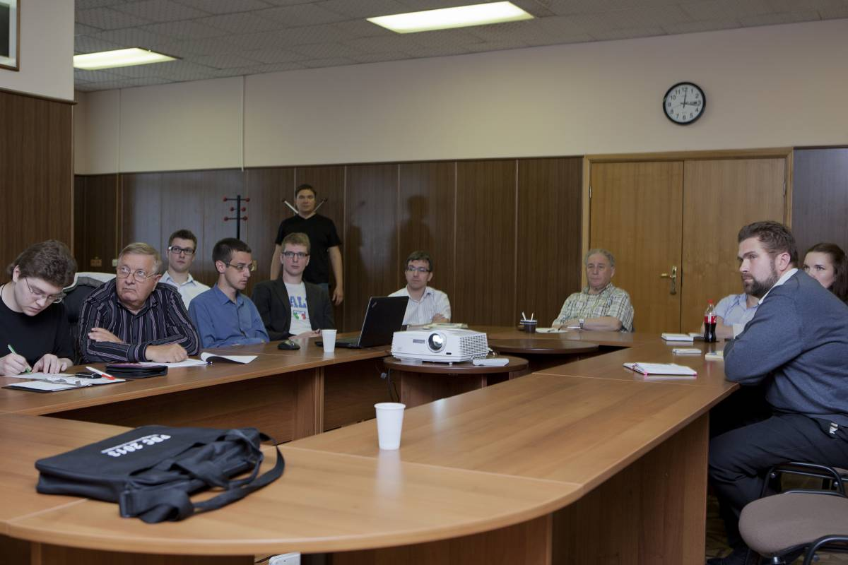 Специалисты НПО им. С. А. Лавочкина на лекции Данхэма / ©Михаэль Иванов-Шувалов