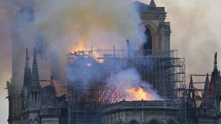 Россия предложила Франции помощь в восстановлении собора Парижской Богоматери