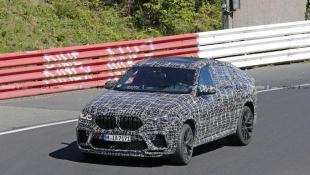 В Сети опубликованы снимки кроссовера BMW X6 M