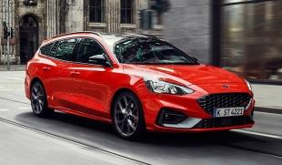 Компания Ford презентовала в Европе универсал Focus ST