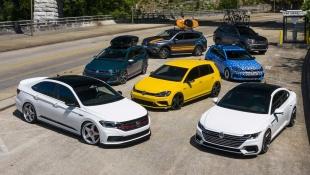 Компания Volkswagen приготовила для США 7 концептов
