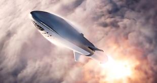 На испытания выходит прототип Starship
