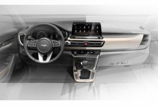 Опубликованы фото салона модели Kia SP Signature