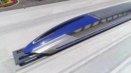 Китайцы изготовили прототип поезда-маглева, развивающего скорость свыше 600 км/ч