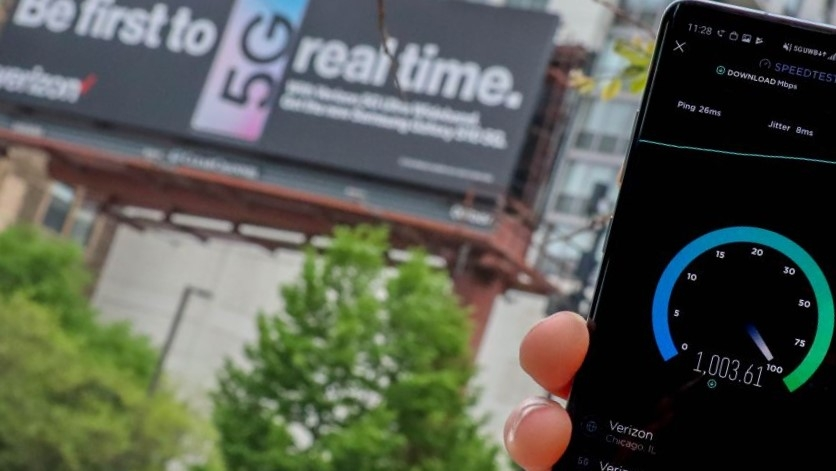 Американцы были поражены скоростью 5G-сети Verizon