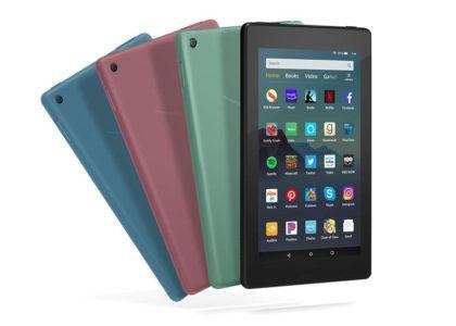 Amazon представила новые дешёвые планшеты Fire 7 для детей и взрослых
