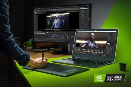 NVIDIA анонсировала ноутбуки RTX Studio, предназначенные для создателей контента