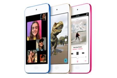 Apple представила обновленный iPod touch с процессором A10 Fusion, поддержкой AR и памятью до 256 ГБ