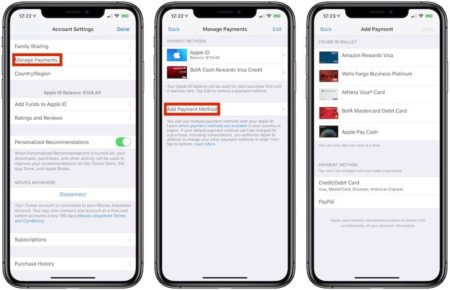 Apple наконец добавила Apple Pay в способы оплаты iTunes, App Store, Apple Music и iCloud