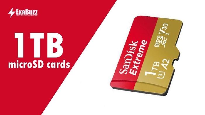 SanDisk начала продажи карт памяти емкостью 1 Тб