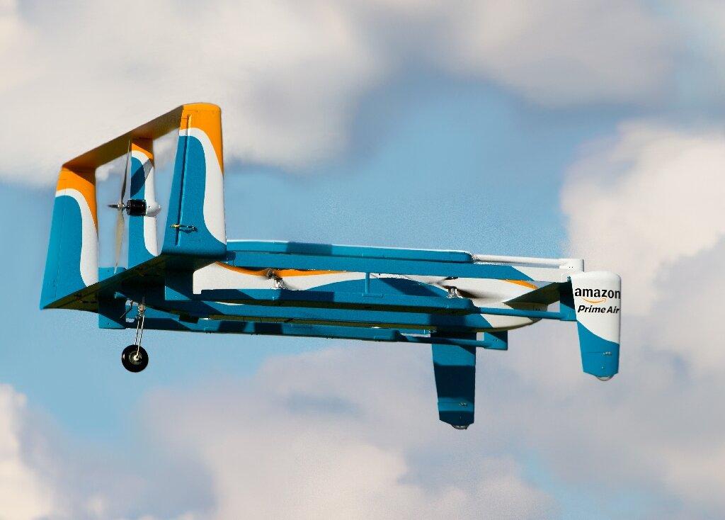 Дрон Amazon Prime Air /©Amazon