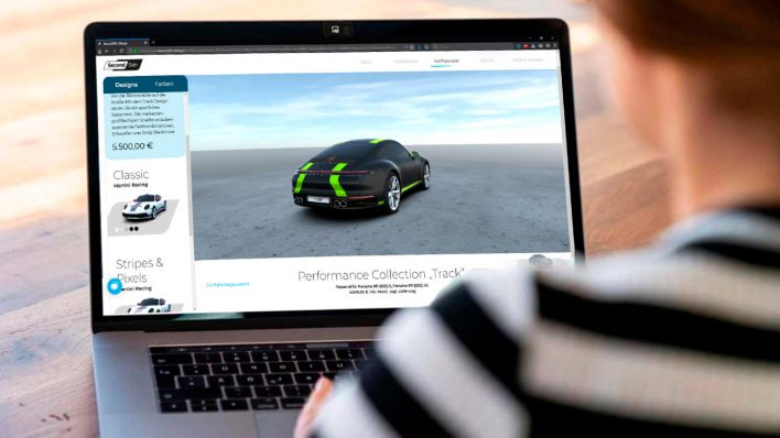 Владельцы Porsche смогут менять самостоятельно менять внешний вид своих авто!