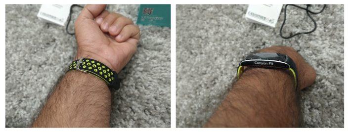 Обзор Canyon CNS-SB41BG — практичный и умный фитнес-браслет для каждого