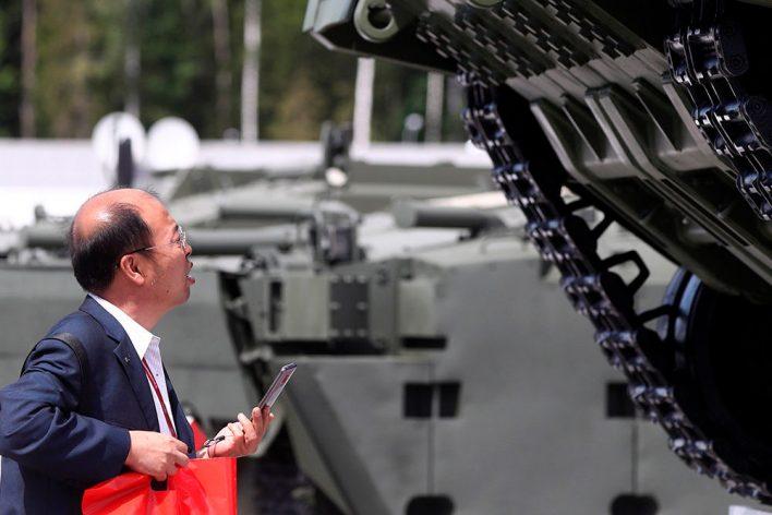На международном форуме «Армия-2019» покажут российского робота «Паладин»