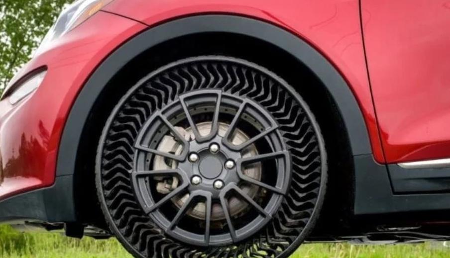 Michelin и General Motors выпустят шины, которые невозможно проколоть!