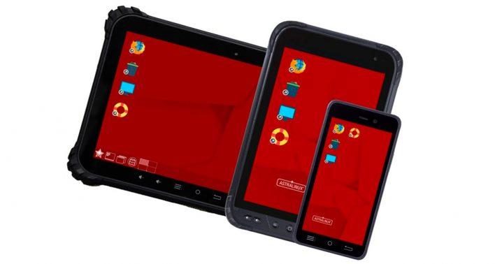 В России планируется запуск производства смартфонов на ОС Astra Linux