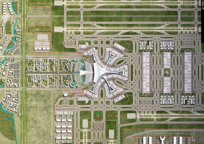 Новый китайский аэропорт Beijing Daxing стал самым крупным в мире!